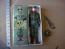 "JGSDF Japanese Ground Self Defense Force 12"" 1/6 Action Figure in Damaged Box"