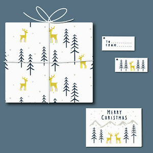 Forest - Card, Tag & Wrap Stencil Set - Create your own stationery - 11035SET