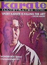 RARE 1/70 KARATE ILLUSTRATED KI WHANG KIM CAYLOR ADKINS KUNG FU MARTIAL ARTS