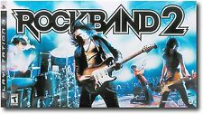Sony PS3 ROCK BAND 2 Special Edition Bundle Game Kit drums guitar microphone set