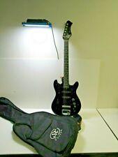 Vtg. 1960-70s Harmony Teisco 6-String Electric Guitar w/Gig Bag
