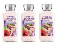 Bath & Body Works 3xFRENCH LAVENDER & HONEY Shea & Vitamin E Body Lotion 8 oz