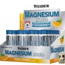 Weider Body Shaper Magnesium Liquid Display 20x25ml  Exotic Orange NEU