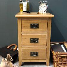 Grange Oak Bedside Table / Light Oak Bedside Cabinet Natural Solid Wood Drawers