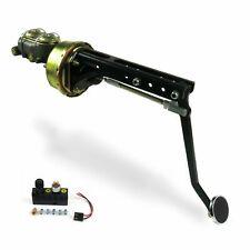 Universal adj FW 8 Single Brake Pedal kit Adj Disk/Drum3in Chr Pad rod
