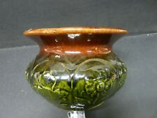 Bennington Type Pot Spittoon Cuspidor