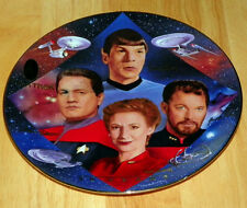 Star Trek Collector Plate 30 Years Second In Command Coa