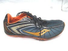 Saucony Shay XC2 blue cross country mens 9 8.5 narrow running shoes 2011