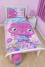 SINGLE BED DUVET COVER SET MOSHI MONSTERS / REVERSIBLE / PINK / BLUE / LILAC