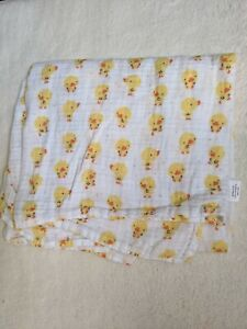 Gymboree baby Ducks muslin swaddle blanket