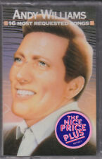 New Sealed Cassette Andy Williams Greatest Hits Columbia 16 Tracks Last Copy