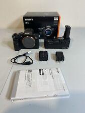 sony a7 iii body +  sony body grip + Sony Dual Battery Grip