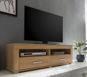 Wilmes: Lowboard Fernsehkommode Fernsehtisch TV-Kommode TV-Board Kernbuche Dekor