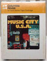 Music City U.S.A. Volumes 3 & 4 8-Track Tape Cartridge A22 6626