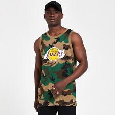 NEW ERA NBA CAMO TANK LOS ANGELES LAKERS WDC TIRANTE ORIGINAL 12369799
