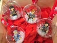 HARRY POTTER Christmas tree baubles fit LEGO gift present minifigures VALENTINES
