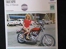 Card 1972 Triumph 750cc - X75 Hurricane (Nederlands) (CC)