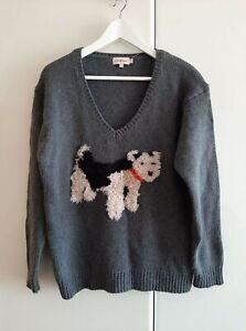 Cath Kidston cute & snuggly fluffy 'stanley' ladies jumper Size:Medium