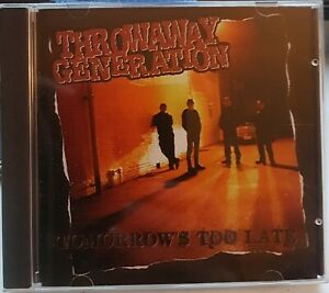 """Throwaway Generation - """"Tomorrow's Too Late """" CDLP - 77 style meets Melodic Punk"""