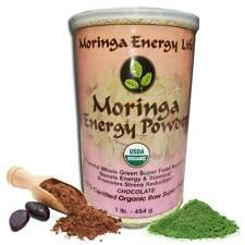 Moringa Energy Powder - Chocolate (1 lb)