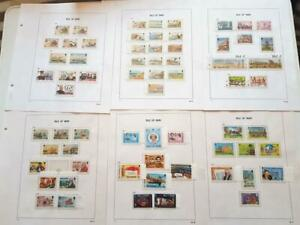 ISLE OF MAN-1981-1983-3 NR COMPL YEARS COMMEMS+DEFINS TO £1 ETC-UNM-63 STMPS+2SH