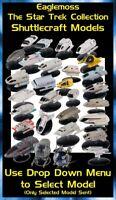 Eaglemoss Star Trek Starships Collection: Shuttlecraft Models - Brand New