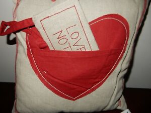 Pottery Barn Love Note Pillow (Cute for Valentine's Day)