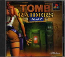 PS1 Tomb Raiders Sony PlayStation Video Game Import JAPAN #SLPS-00617