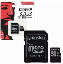 Kingston Micro SD SDHC memory Card Class 10 32GB Memory with SD card Adapter New