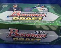 2020 Bowman Draft Baseball Jumbo Factory Sealed Hobby Box with 3 Auto Inserts