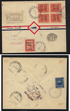 Paraguay  C31, C34   on  registered airmail cover to  Argentina          KL0626