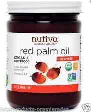 NEW NUTIVA ORGANIC RED PALM OIL UNREFINED SUPERFOOD NON GMO VITAMIN A & E 444 ml