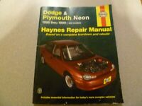 Haynes Repair Manual: Dodge and Plymouth Neon 1995 Thru 1999 : Based on a...