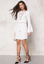 WYLDR Nasty Gal Dream Daze Lace White Dress Size Small S NWT