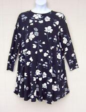 OLD NAVY  SWING DRESS BLACK FLORAL SZ 2 X PLUS ~NWT~