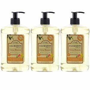 A LA MAISON Liquid Soap Citrus Blossom, 3Count ()
