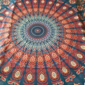 Mandala Tapestry Wall Hanging Hippie Huge 79 X 57