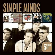 SIMPLE MINDS - 5 ALBUM SET  (SONS AND FASCINATION/NEW GOLD DREAM/+)  5 CD NEW+