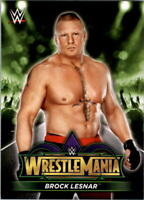 2018 Topps WWE Road to WrestleMania WrestleMania 34 Roster Wresting Card Pick