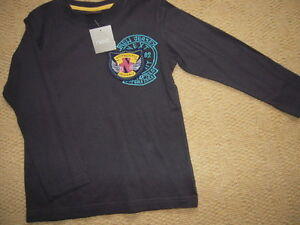 New With TagDark Blue Long Sleeved Top by Next in Size 4 to 5 yrs (height 110cm)