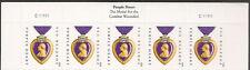 US 4704 Purple Heart Medal forever header strip 5 C111111 MNH 2012