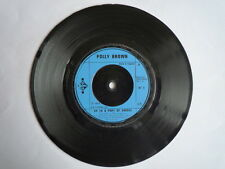 POLLY BROWN - UP IN A PUFF OF SMOKE / I'M SAVING ALL MY LOVE - 45 RPM VINYL-1974