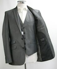 Men's Williams & Brown 3pc Suit in Dark Grey (40R).. Sample 6410