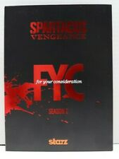 STARZ Spartacus Vengeance, Season 2, For Your Emmy Consideration DVD, FYC