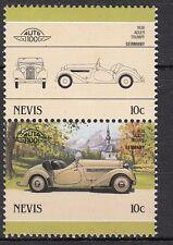 H122) Timbres Neufs MNH (Adler Trumpf 1936) /NEVIS/ VOITURES-CARS-AUTOMOBILES