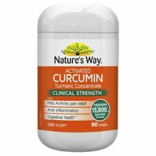 Nature's Way Activated Curcumin Turmeric Concentrate 15800mg - 90 Tablets