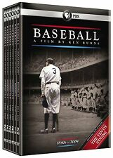Baseball: A Film by Ken Burns (DVD, 2010, 11-Disc Set) Brand New