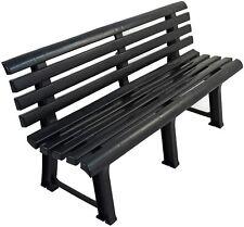 TRABELLA BRINDISI Anthracite Garden Bench