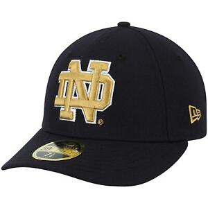 Notre Dame Fighting Irish New Era Basic Low Profile 59FIFTY Fitted Hat - Navy