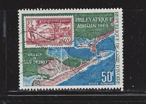 IVORY COAST - C38 & C40 - USED - 1969 - PHILEXAFRIQUE ISSUE